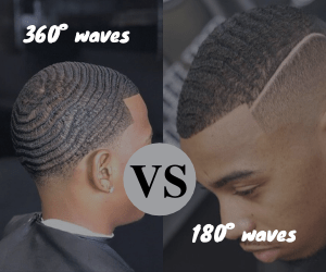 comparaison entre les 360 waves et les 180 waves
