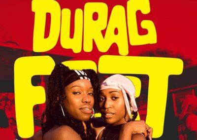 Affiche de la fête du durag Duragfest)