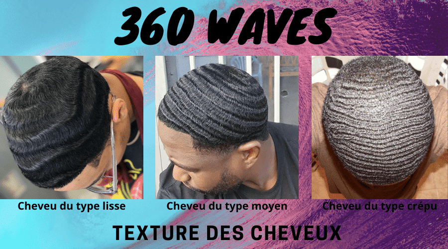 Avoir les 360 Waves : comprendre les différentes textures de cheveux