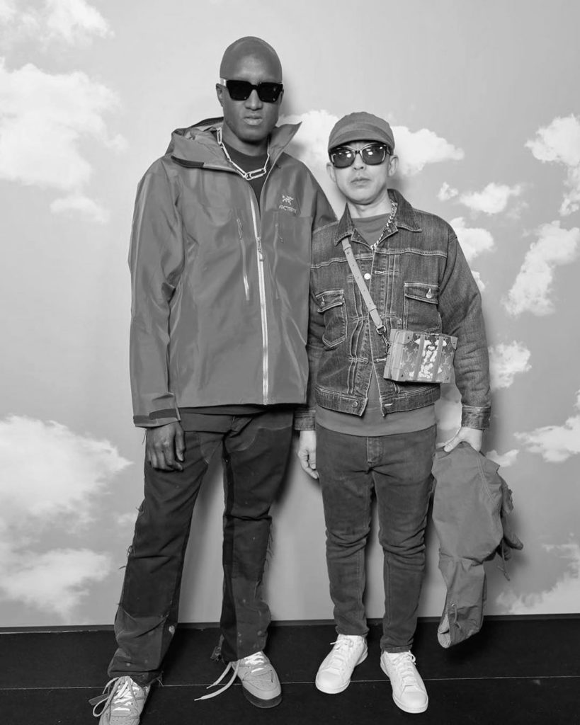 Virgil Abloh et Nigo ensemble